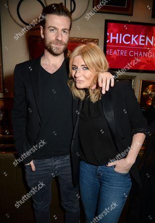 Mike Davison and Michelle Collins