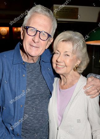 Stock Picture of Robert Lacey and Lady Jane Rayne Lacey