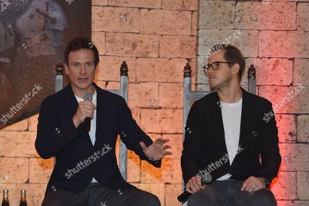 Simon Merrells and Dan Jones