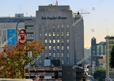 The Los Angeles Times building is seen in downtown Los Angeles on . Dr. Patrick Soon-Shiong, a biotech billionaire, struck a $500 million deal Wednesday to buy the Los Angeles Times, ending the paper's quarrelsome relationship with its Chicago-based corporate overseers and bringing it under local ownership for the first time in 18 years