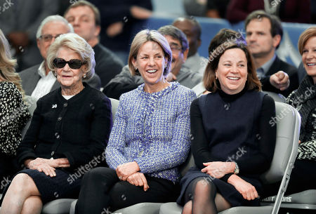 Martha Firestone Ford, Sheila Ford Hamp, Elizabeth Ford Kontulis. Detroit Lions owner and chairman Martha Firestone Ford, from left, vice chair Sheila Ford Hamp, and vice chair Elizabeth Ford Kontulis smile during a news conference to introduce new head coach Matt Patricia at their NFL Football training facility in Allen Park, Mich