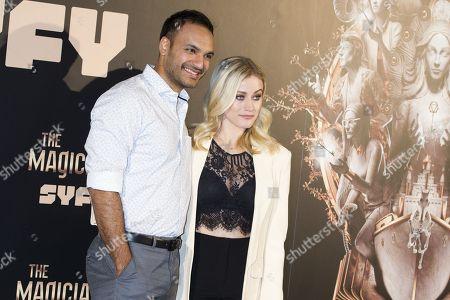 Olivia Taylor Dudley and Arjun Gupta