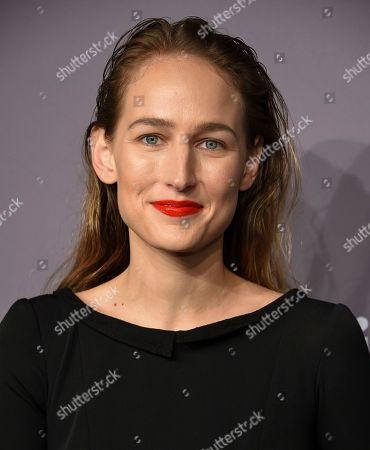 Leelee Sobieski attends the 2018 Fashion Week amfAR Gala New York at Cipriani Wall Street, in New York