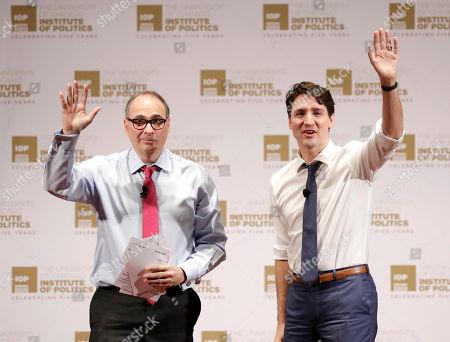 Editorial picture of Trudeau , Chicago, USA - 07 Feb 2018