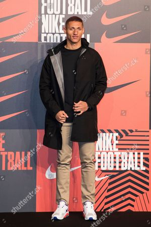 Richarlison de Andrade poses for photographers upon arrival at the Nike Celebrates The Beautiful Game event, in London