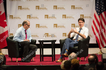 Stock Picture of Prime Minister of Canada Justin Trudeau, David Axelrod