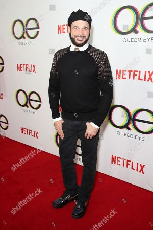Editorial image of 'Queer Eye' TV show premiere, Arrivals, Los Angeles, USA - 07 Feb 2018