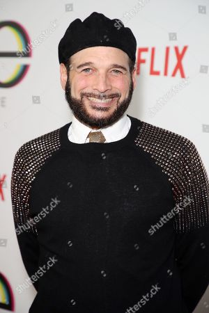 Editorial photo of 'Queer Eye' TV show premiere, Arrivals, Los Angeles, USA - 07 Feb 2018