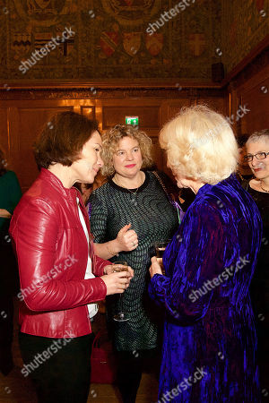 Eleanor Mills and Her Royal Highness Camilla Duchess of Cornwall