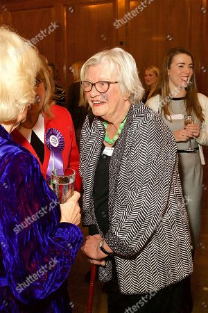 Her Royal Highness Camilla Duchess of Cornwall and Lynn Barber