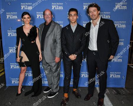 Rachele Schank, Brian Baumgartner, Luke Brandon Field and director Anthony Sabet