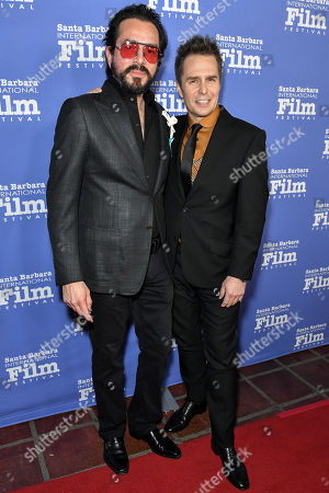 Roger Durling and Sam Rockwell
