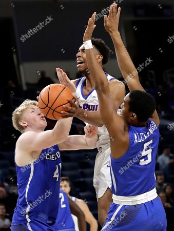 Editorial picture of Creighton DePaul Basketball, Chicago, USA - 07 Feb 2018