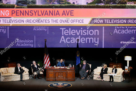 Editorial photo of Penning Pennsylvania Ave: How Television (Re)Creates The Oval Of, North Hollywood, USA - 07 Feb 2018