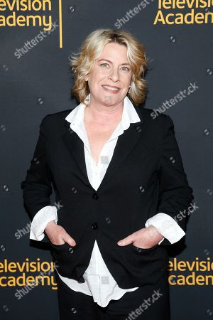 """Barbara Hall, Creator and Showrunner, """"Madam Secretary"""", and Co-Executive Producer, """"Homeland"""", arrives to take part in the Television Academy's member event """"Penning Pennsylvania Ave.: How Hollywood (Re)Creates The Oval Office,"""" on at the Saban Media Center at the Television Academy in North Hollywood, Calif"""