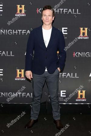 Editorial image of 'Knightfall' TV show photocall, Mexico City, Mexico - 07 Feb 2018