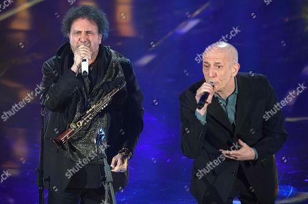 Enzo Avitabile and Peppe Servillo