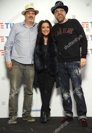 Mario Biondi, Daniel Jobim and Ana Carolina