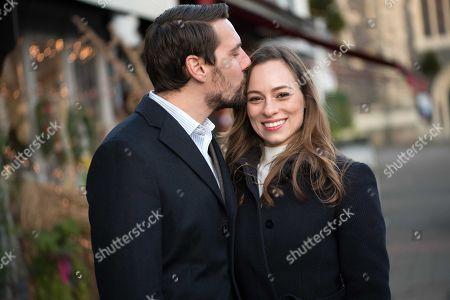 Stock Photo of Prince Nicholas and Alina Binder