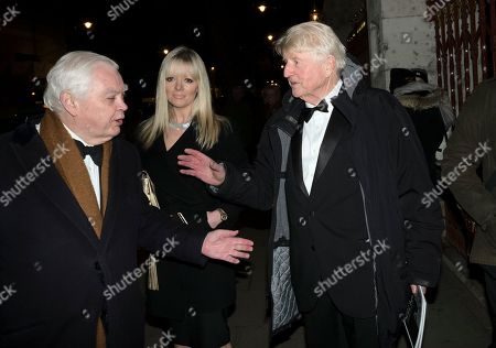 Lord Norman Lamont, Lucy Welford and Stanley Johnson