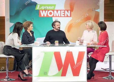Editorial image of 'Loose Women' TV show, London, UK - 08 Feb 2018