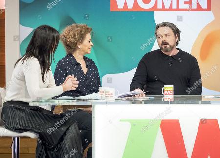 Christine Lampard, Nadia Sawalha, Paul Cattermole