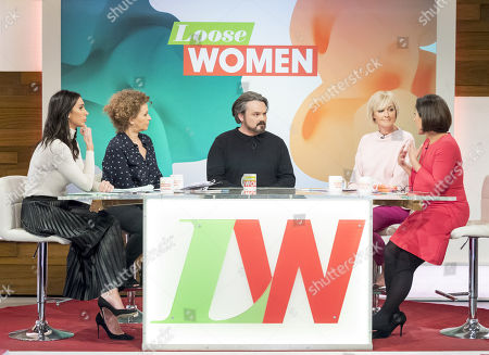 Stock Picture of Christine Lampard, Nadia Sawalha, Paul Cattermole, Jane Moore and Saira Khan