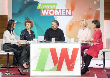 Christine Lampard, Nadia Sawalha, Paul Cattermole, Jane Moore and Saira Khan