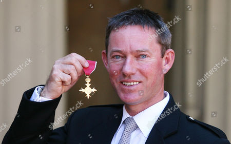 Olympic Sailing Team Manager Stephen Park with his OBE