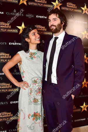 Dina Mousawi and Jim Sturgess
