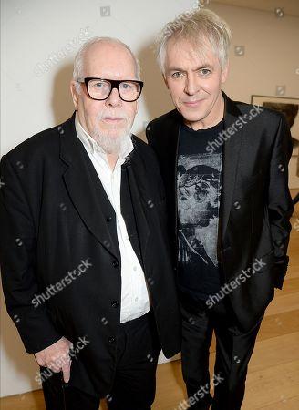 Peter Blake and Nick Rhodes