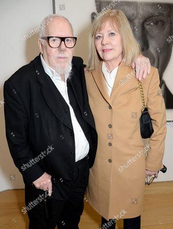 Sir Peter Blake and Chrissie Blake