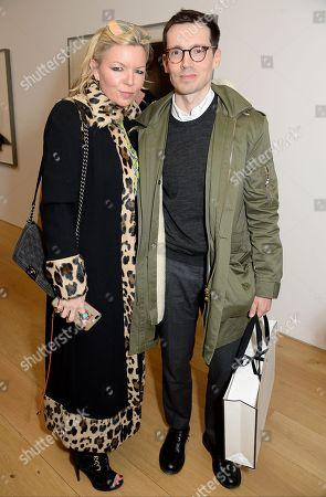 Fru Tholstrup and Erdem Moralioglu