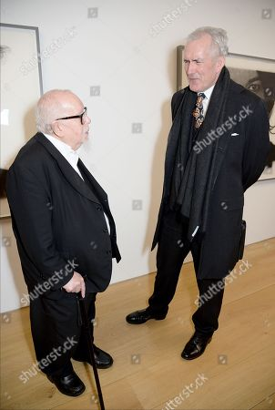 Peter Blake and guest