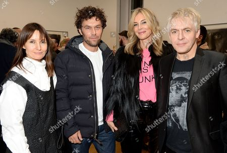 Daisy Bates, Barry Reigate, Kim Hersov and Nick Rhodes