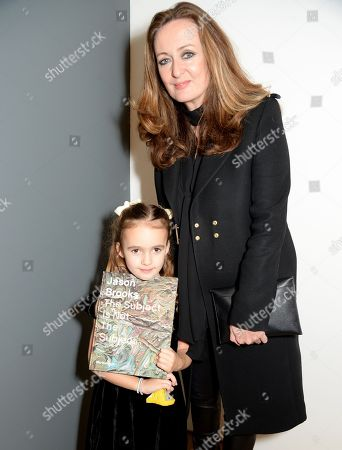 Lucy Yeomans with daughter