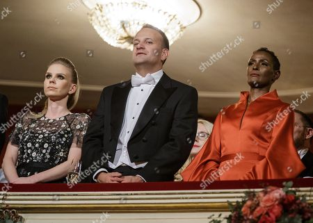 Susanne Thier, Leo Varadkar and Waris Dirie