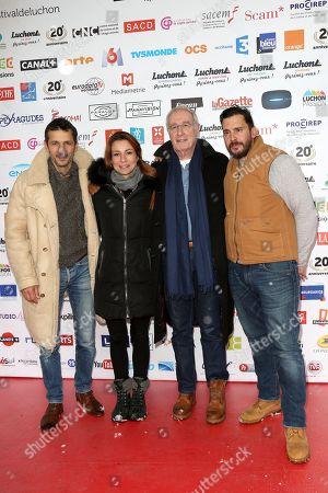 Kamel Belghazi, Jennifer Lauret, Bernard Le Coq and Alexandre Thibault