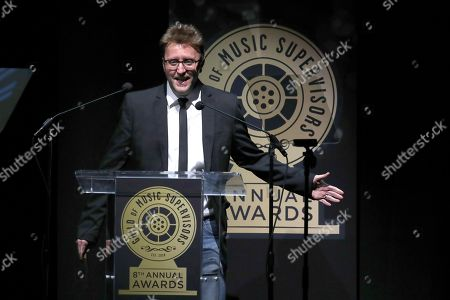 Editorial photo of 8th Annual Guild of Music Supervisor Awards, Show, Los Angeles, USA - 08 Feb 2018