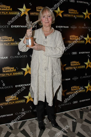 Gemma Jones, winner of Best Supporting Actress for Gods Own Country
