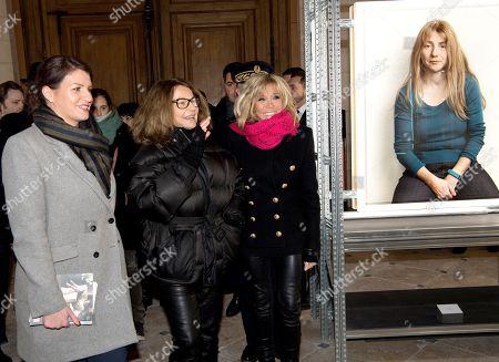 Marlene Schiappa, Bettina Rheims and Brigitte Trogneux
