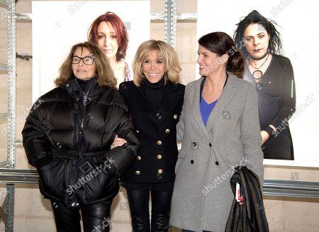 Bettina Rheims, Brigitte Trogneux and Marlene Schiappa