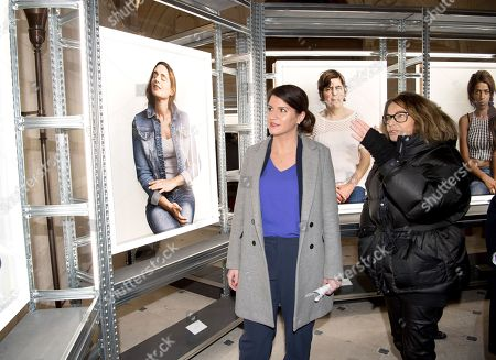 Editorial photo of Bettina Rheims 'Detenues' exhibition opening, Paris, France - 08 Feb 2018