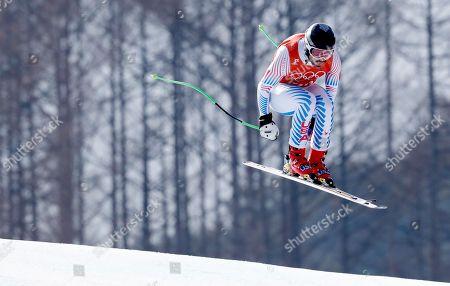 Editorial picture of Alpine Skiing - PyeongChang 2018 Olympic Games, Bukpyeong, Korea - 09 Feb 2018