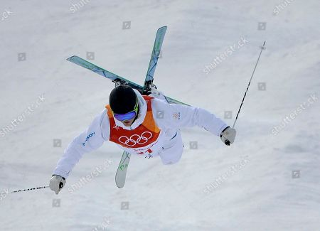 Editorial image of Olympics Freestyle Skiing Men, Pyeongchang, South Korea - 09 Feb 2018