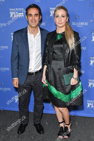 Stock Picture of Alexei Barrionuevo and Agatha Bober