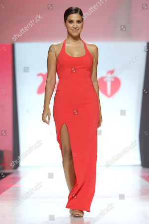 Editorial photo of Go Red For Women RED DRESS COLLECTION 2018 - Runway, New York, USA - 08 Feb 2018
