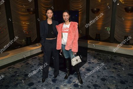 Editorial picture of NYFW Fall/Winter 2018-Stuart Weitzman FW 2018 Cocktail Party, New York, USA - 08 Feb 2018