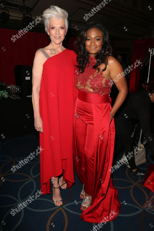 Maye Musk and Tatyana Ali