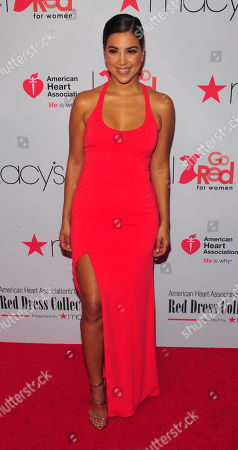 Editorial image of American Heart Association's 'Go Red For Women' Red Dress Collection show, New York, USA - 08 Feb 2018